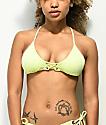 Damsel Scale Sunbleach Bralette Bikini Top