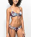 Damsel Waikiki braguitas de bikini reversibles con cordones