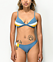 Damsel Winterfell Colorblock Cheeky Bikini Bottom