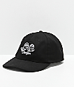 Danson Otter Love Black Strapback Hat