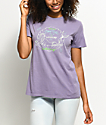 Dark Seas Bottoms Up Dusty Purple T-Shirt