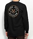 Dark Seas Coastal Guard Black Long Sleeve T-Shirt