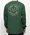 Dark Seas Coastal Guard Forest Green Long Sleeve T-Shirt