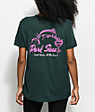 Dark Seas Dinos Dive Forest Green T-Shirt