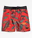 Dark Seas Eddy shorts de baño en rojo