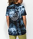 Dark Seas Forbidden camiseta negra con efecto tie dye