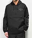 Dark Seas Foul Weather chaqueta anorak negra reflectante