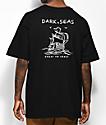 Dark Seas Long Travel Black T-Shirt