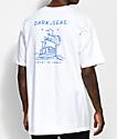 Dark Seas Long Travel White T-Shirt