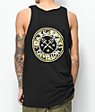 Dark Seas Navigator Black & Camo Tank Top