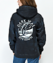 Dark Seas Night Jewel Charcoal Dye Hoodie