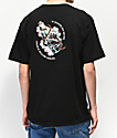 Dark Seas Rose camiseta negra