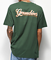 Dark Seas x Grundens First Class Green T-Shirt