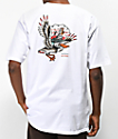 Dark Seas x Grundens Pelican camiseta blanca