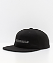 Deathworld Continental gorra strapback en negro