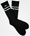 Deathworld Spider Thorn Black Crew Socks