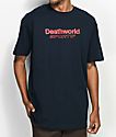 Deathworld Sportif Navy T-Shirt