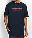 Deathworld Sportif Navy T-Shirt
