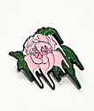 Deja Pins Melting Rose broche rosa