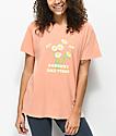 Desert Dreamer Goodbye Bad Vibes camiseta naranja