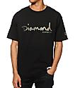 Diamond Supply Co Camo OG Script camiseta