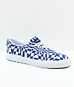 Diamond Supply Co. Avenue QS zapatos de skate en azul y blanco