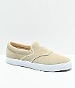 Diamond Supply Co. Boo-J Slip-On zapatos de skate de ante en bies