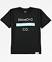 Diamond Supply Co. Boys Bar Logo Black T-Shirt