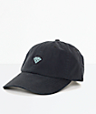 Diamond Supply Co. Brilliant Black & Blue Strapback Hat