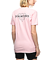 Diamond Supply Co. Brilliant camiseta rosa
