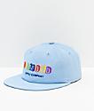 Diamond Supply Co. Building Blocks Blue Strapback Hat