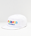 Diamond Supply Co. Building Blocks White Strapback Hat