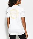 Diamond Supply Co. Circle Logo camiseta blanca