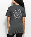 Diamond Supply Co. Circle Logo camiseta en color plomo