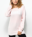 Diamond Supply Co. Crescendo Pink Long Sleeve T-Shirt