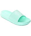 Diamond Supply Co. Fairfax Brook Green Slide Sandals