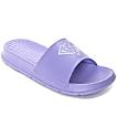 Diamond Supply Co. Fairfax Violet Tulip Slide Sandals