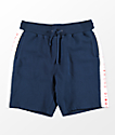Diamond Supply Co. Fordham Navy & White Sweat Shorts