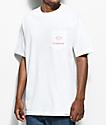 Diamond Supply Co. Futura Sign White Pocket T-Shirt