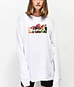 Diamond Supply Co. Gift OG Box Logo White Long Sleeve T-Shirt