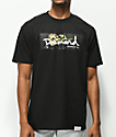 Diamond Supply Co. Gold Rose Box Logo Black T-Shirt