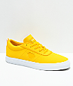 Diamond Supply Co. Icon Mustard Yellow Canvas Skate Shoes