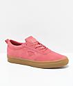 Diamond Supply Co. Icon zapatos de skate de ante en color salmón y goma