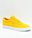 Diamond Supply Co. Icon zapatos de skate de lienzo amarillo