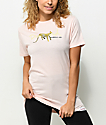 Diamond Supply Co. Leopard OG Script Pink T-Shirt