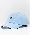 Diamond Supply Co. Micro Brilliant Powder Blue Strapback Hat