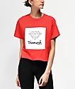 Diamond Supply Co. Mini OG Sign Red Crop T-Shirt