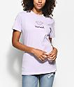 Diamond Supply Co. Mini OG camiseta en morado pastel