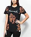 Diamond Supply Co. OG Script Black & Brown Tie Dye T-Shirt