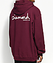 Diamond Supply Co. OG Script Burgundy Hoodie